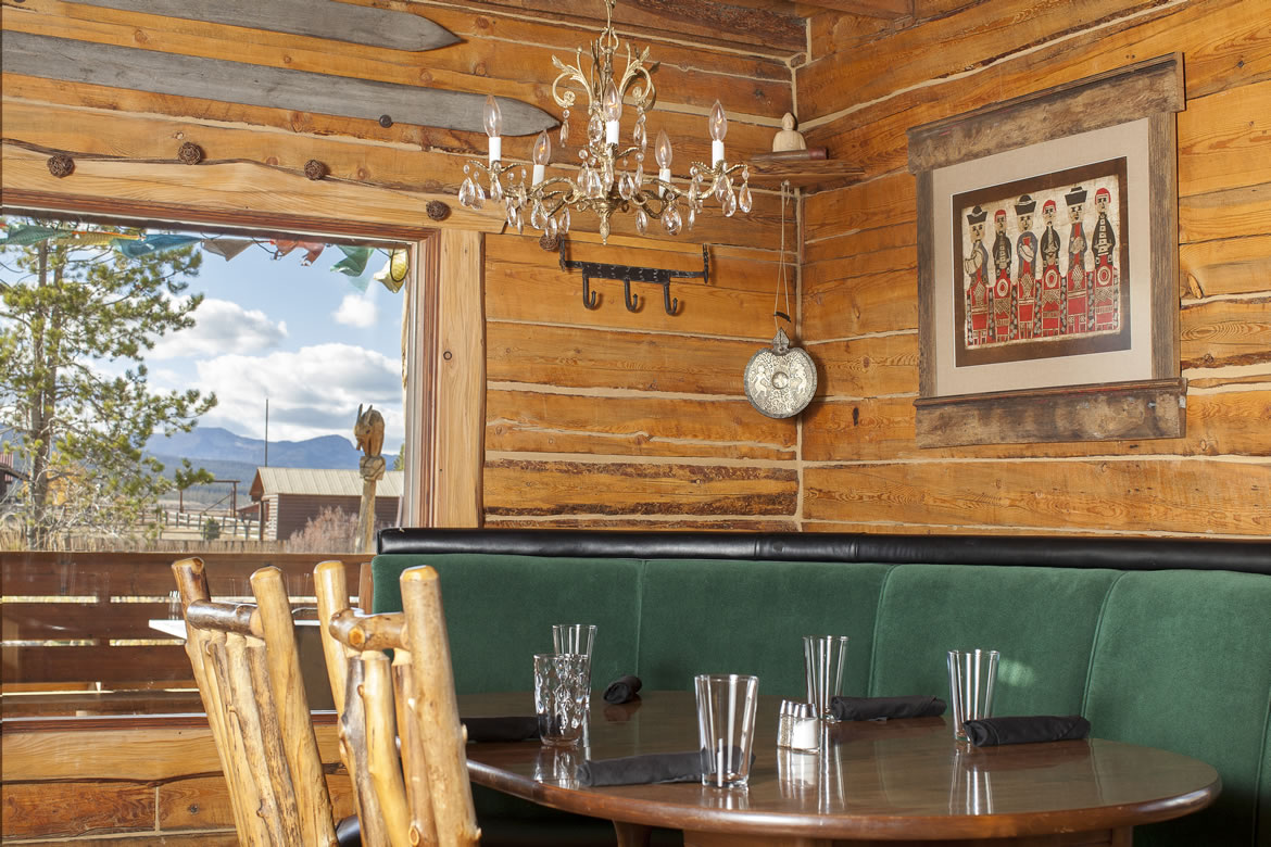 Lodging At The Sawtooth Hotel In Stanley Idaho - Hotel dining room furniture